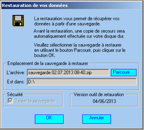 ecran de restauration1